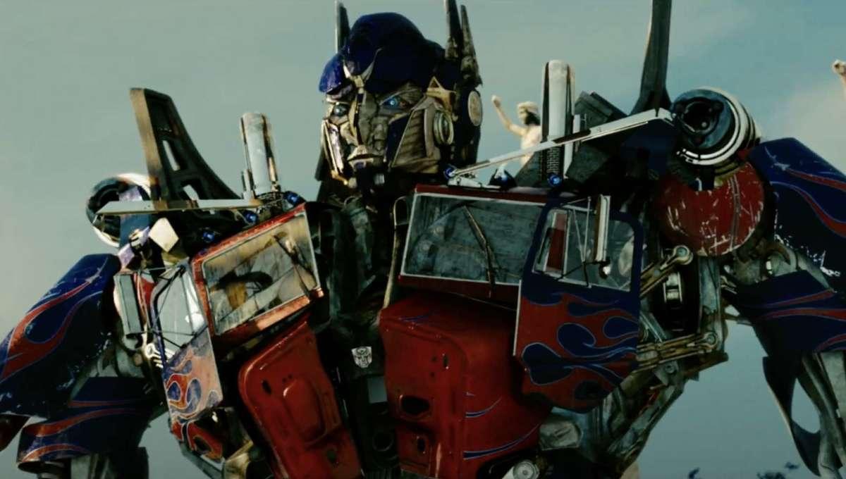 Transformers Optimus Prime official screen shot