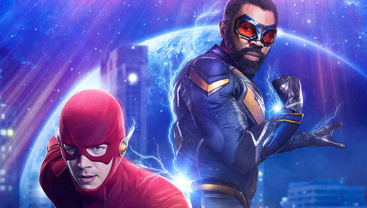 Crisis Flash Black Lightning poster