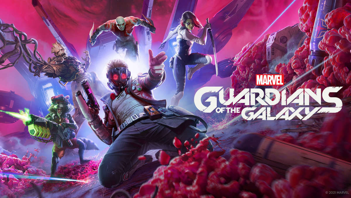 Guardians of the Galaxy from Marvel and Square Enix