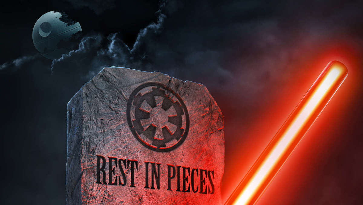 LEGO Star Wars Terrifying Tales key art