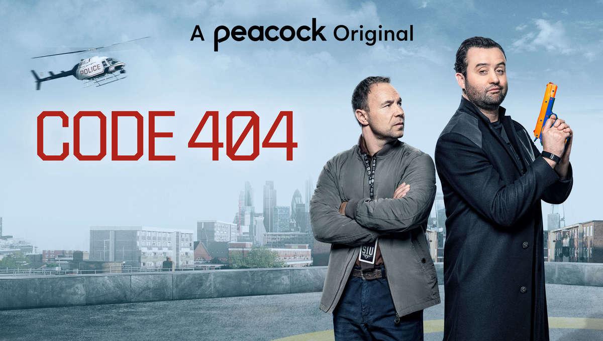CODE 404 Peacock Season 2 poster