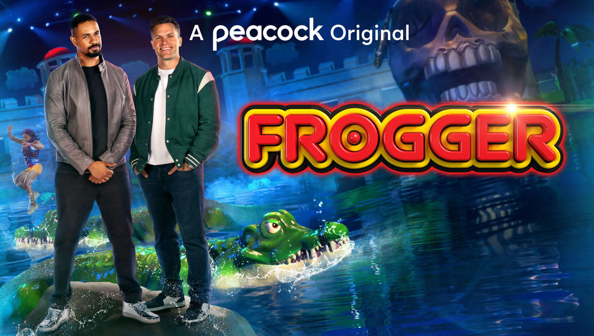 Frogger promo image Peacock