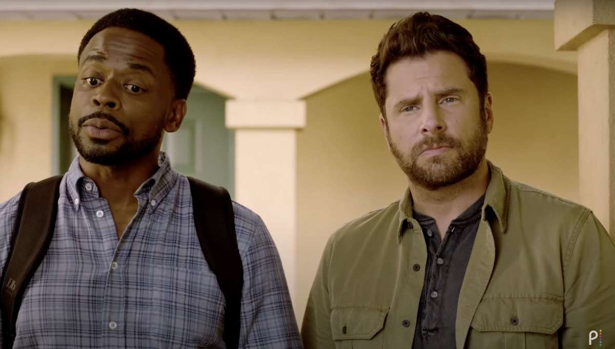 Psych 3 movie screen shot from trailer