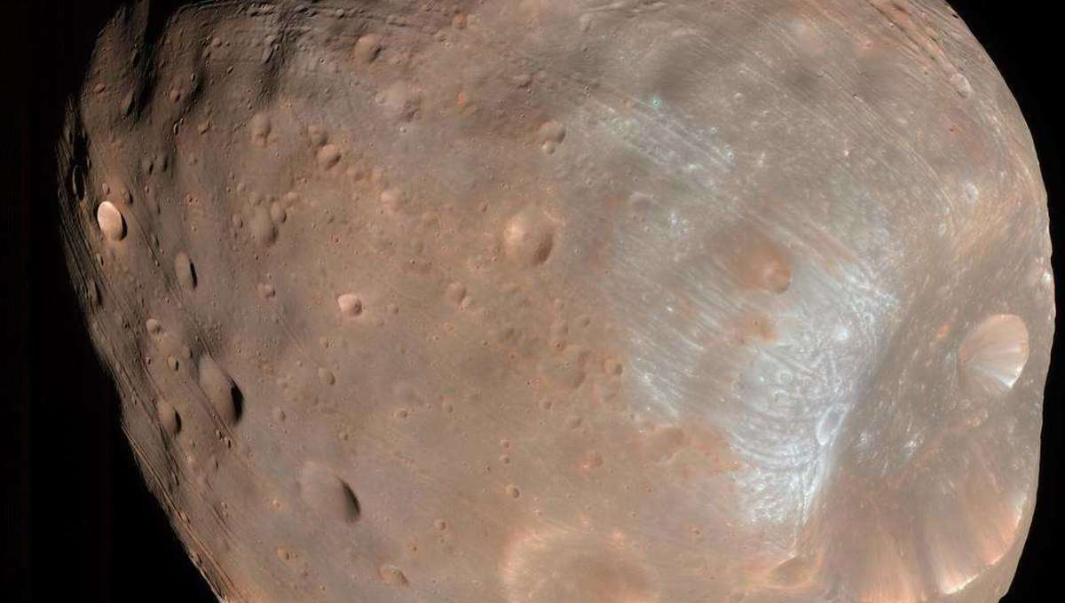 Liz Phobos Moon Mars