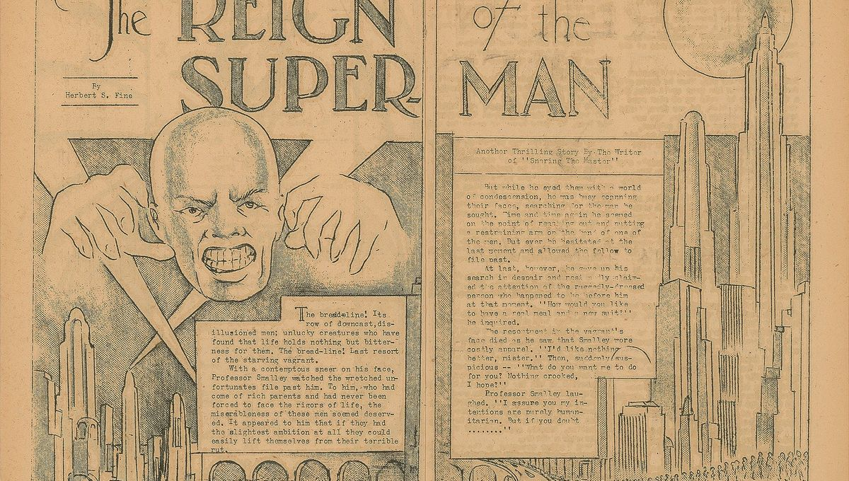 Reign of the Superman cover