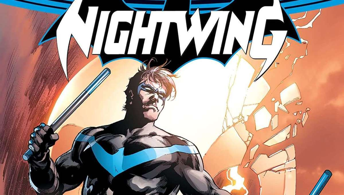 Nightwing the Rebirth Cover