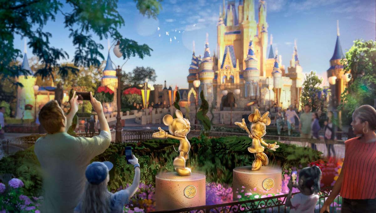Walt Disney World Character Sculptures