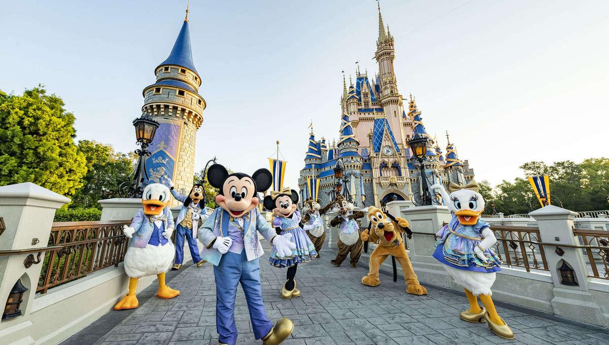 Walt Disney World 50 Character Fashions