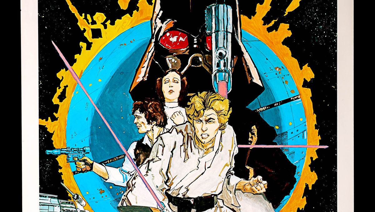 Check Out These Rare Original Star Wars And James Bond Posters Going To Auction