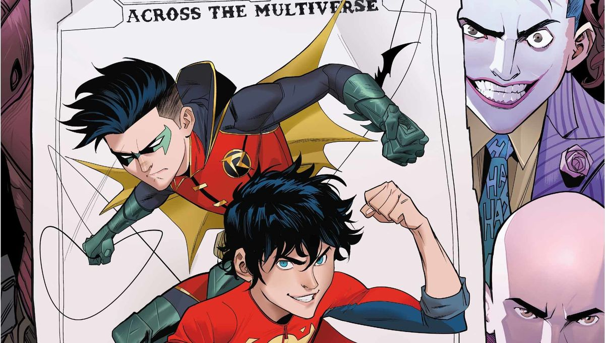 Adventures of the Super Sons #2 Cover