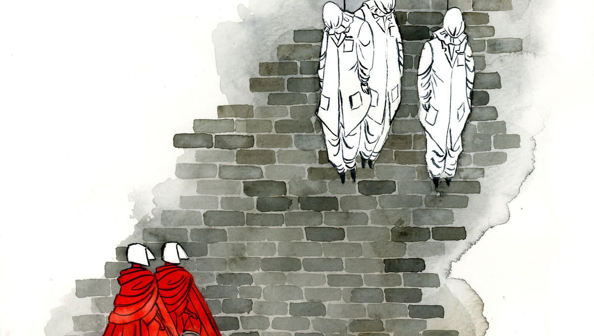 At the Wall, concept art