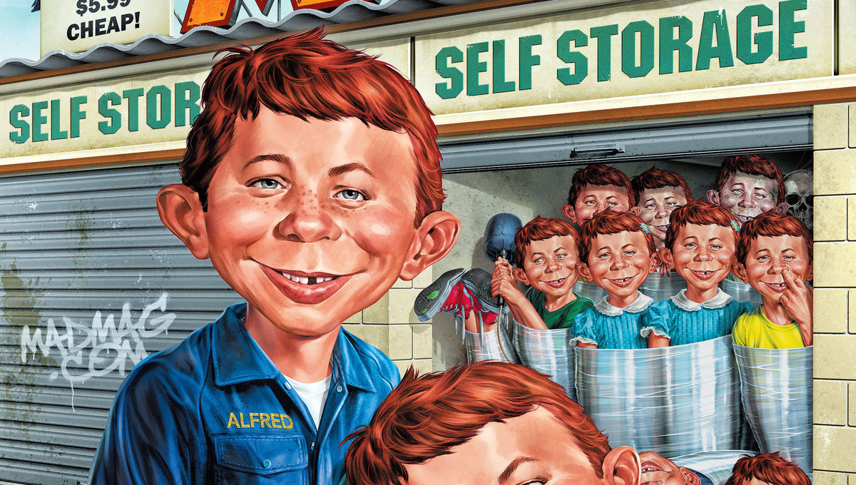 MAD Magazine #7 Cover