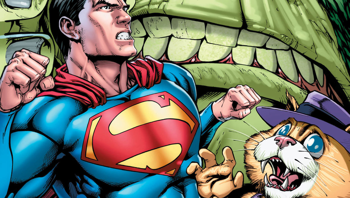Superman TopCat #1 Cover Unlettered