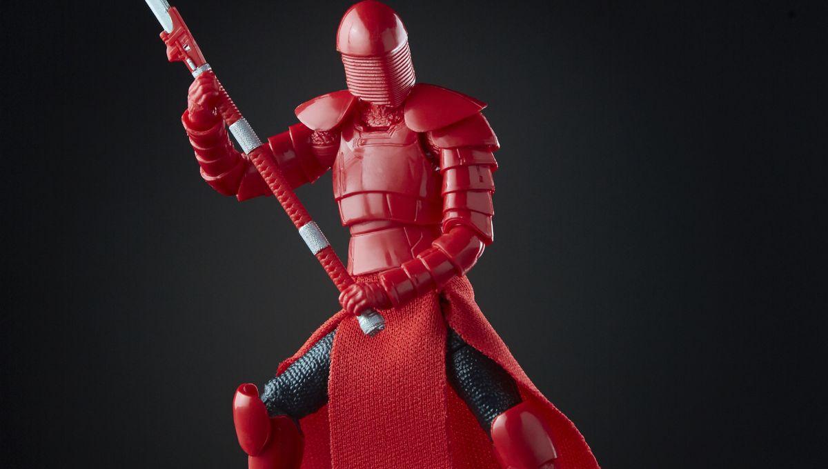 Star Wars Black Series 3.75 Elite Praetorian Guard new  walmart exclusive