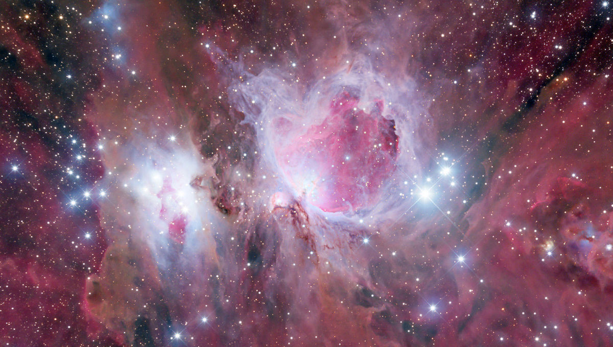 The Orion Nebula, one of the closest large star-forming regions in the galaxy. Credit: Adam Block/Steward Observatory/University of Arizona