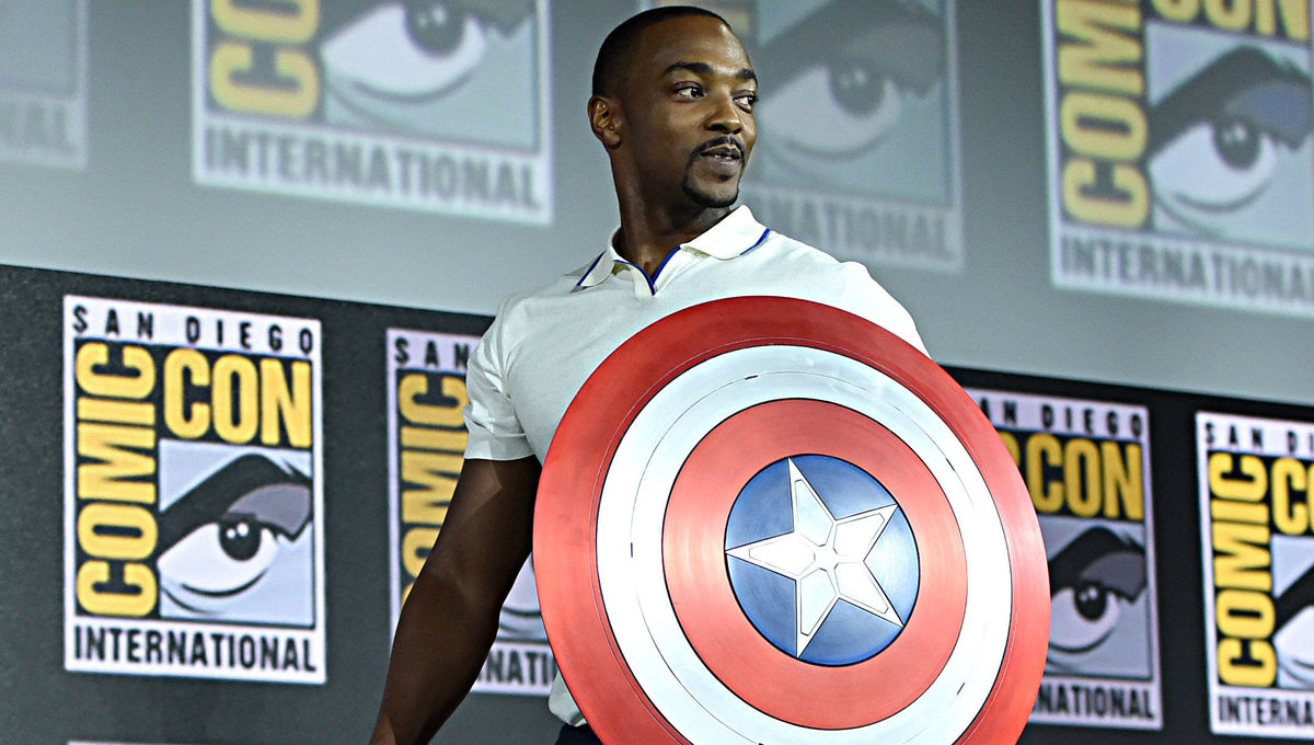 Anthony Mackie SDCC 2019 Falcon Winter Soldier