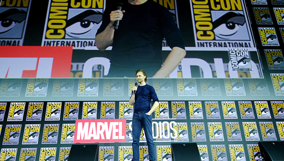 Tom Hiddleston SDCC 2019 Loki
