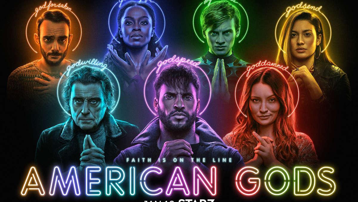 American Gods Season 3 key art
