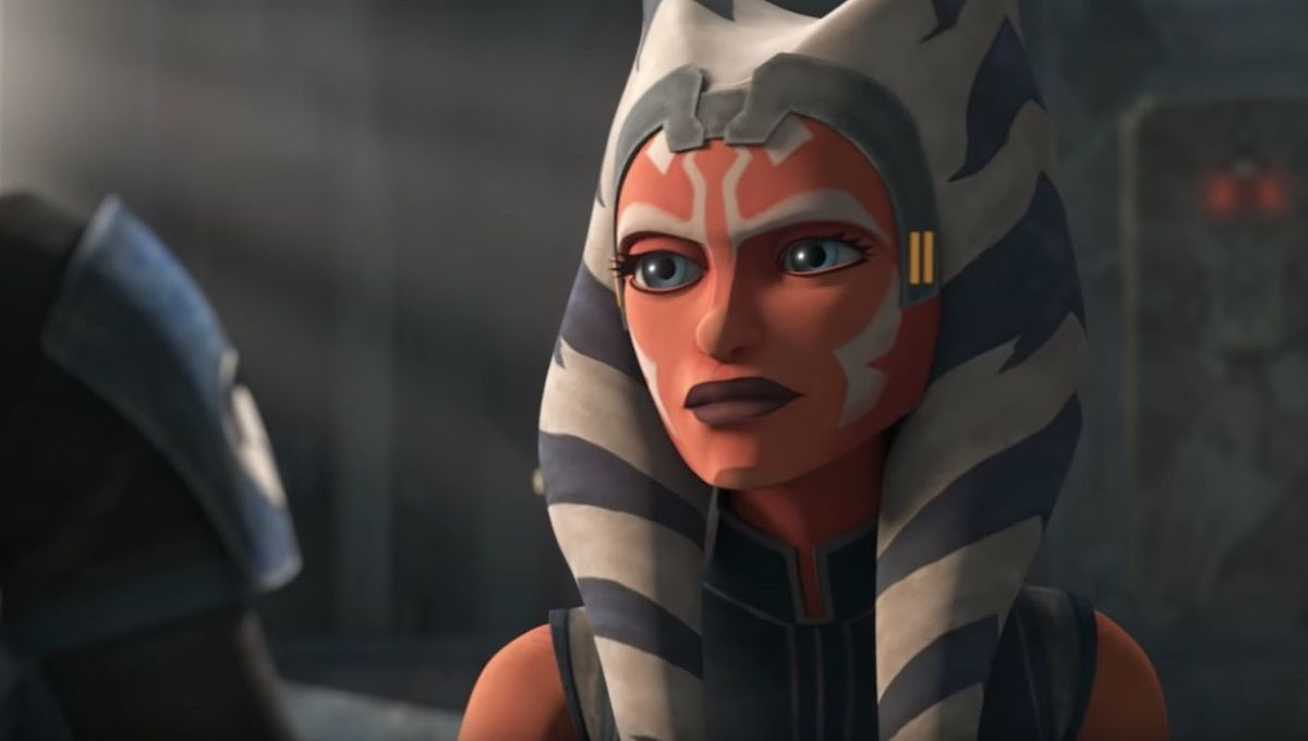 Ahsoka in Star Wars The Clone Wars1