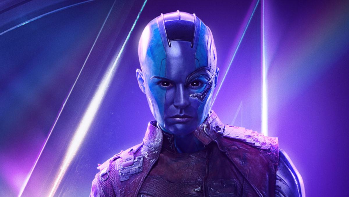 Avengers: Infinity Wars character poster - Karen Gillan as Nebula