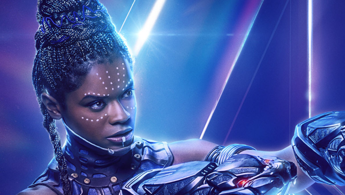 Avengers: Infinity Wars character poster - Letitia Wright as Shuri