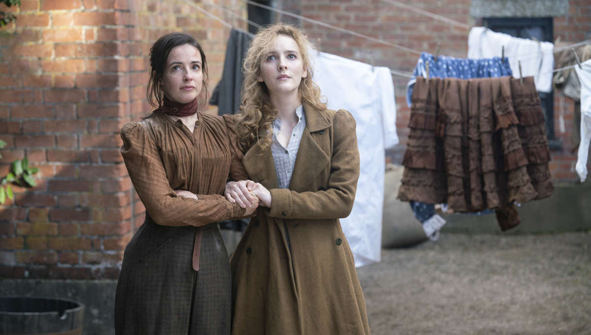 Ann Skelly and Laura Donnelly The Nevers