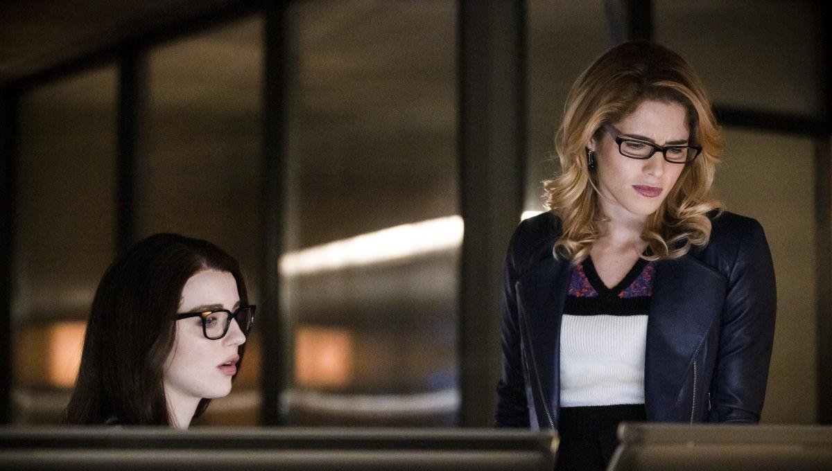 Emily Bett Rickards on Arrow (Credit: The CW)