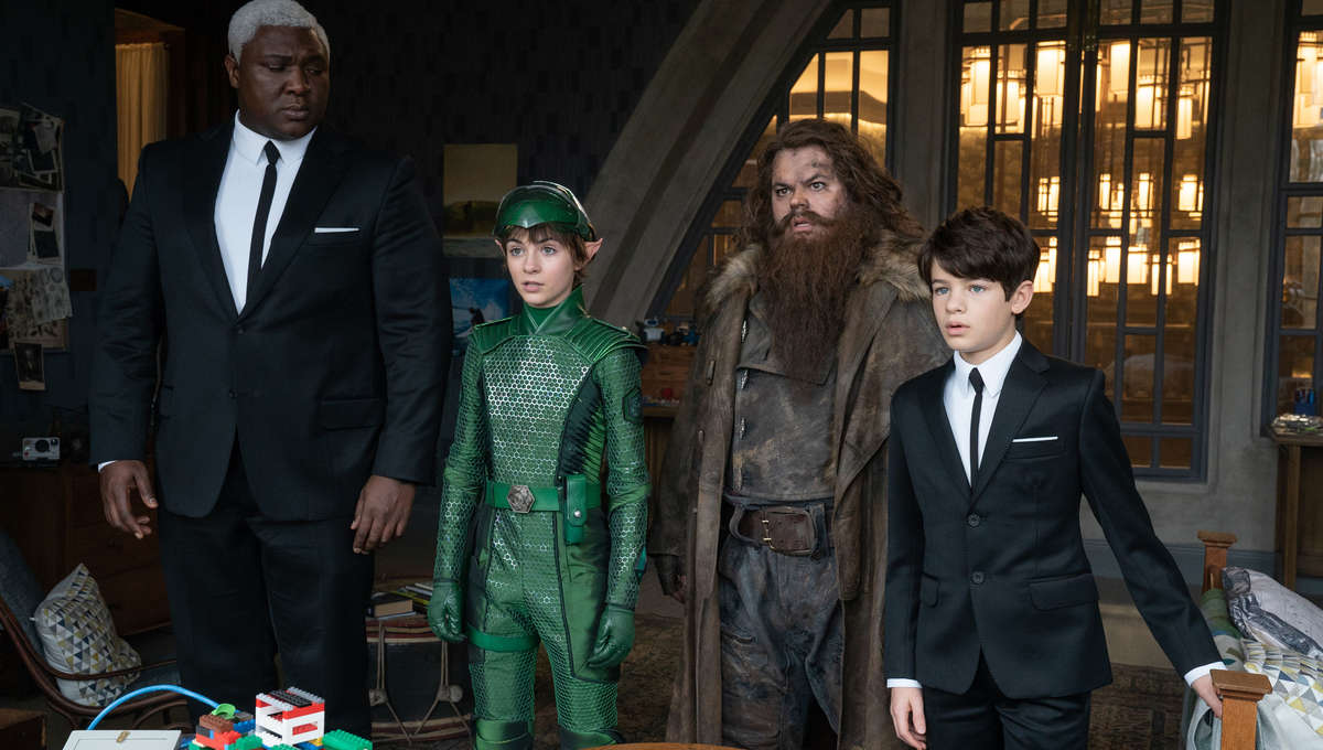 Artemis Fowl author says film was almost a fantasy parody with ...