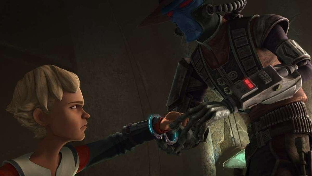 Star Wars Bad Batch Omega and Cad Bane