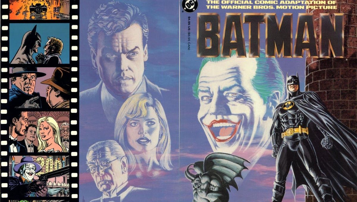 Batman: The official comic adaptation of the Warner Bros. motion picture (Written by Denny O'Neil, Art by Jerry Ordway)