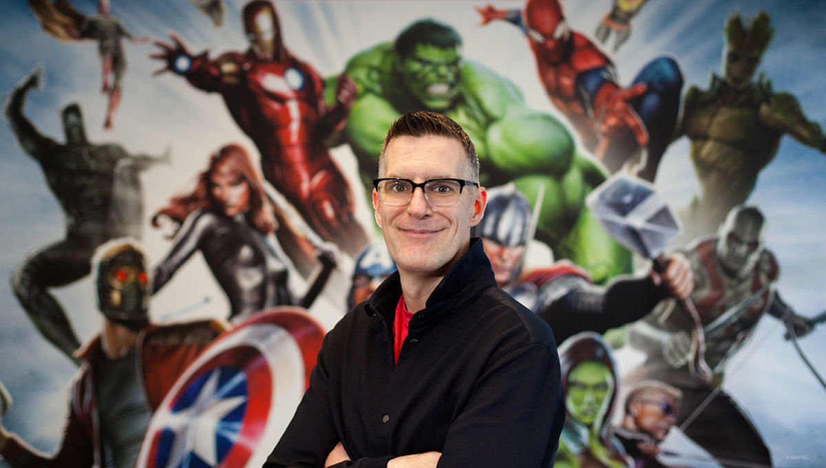 Marvel Games VP and Creative Director Bill Rosemann