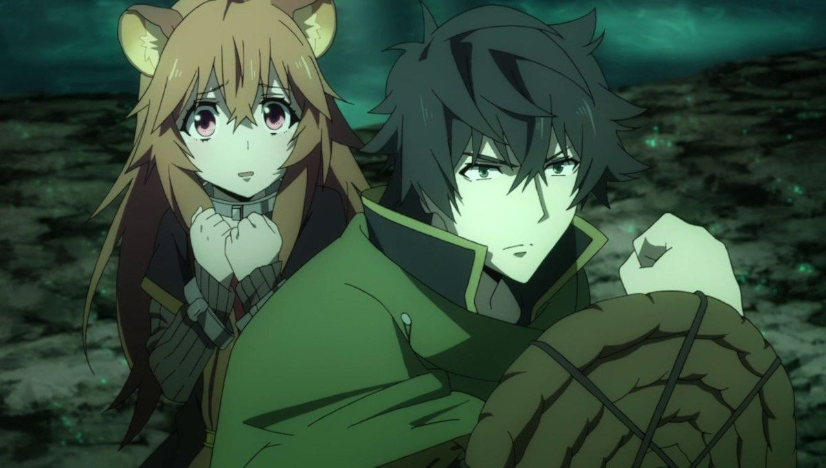 The Rising of the Shield Hero - Raphtalia and Naofumi