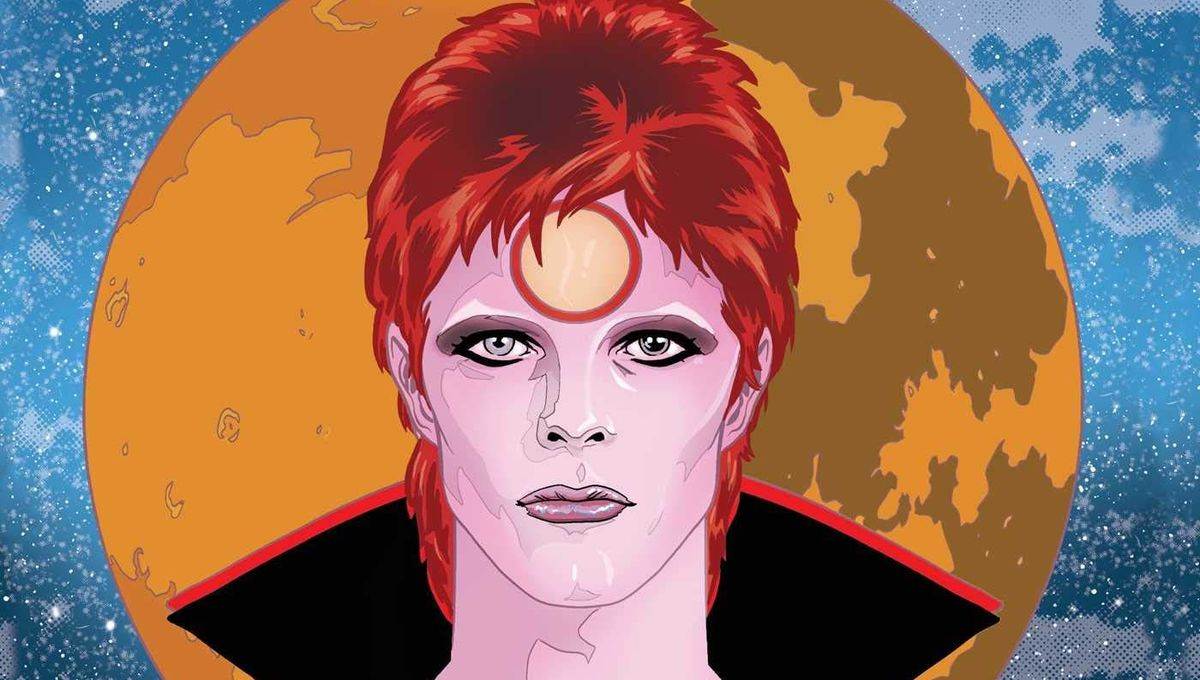 Bowie graphic novel cover