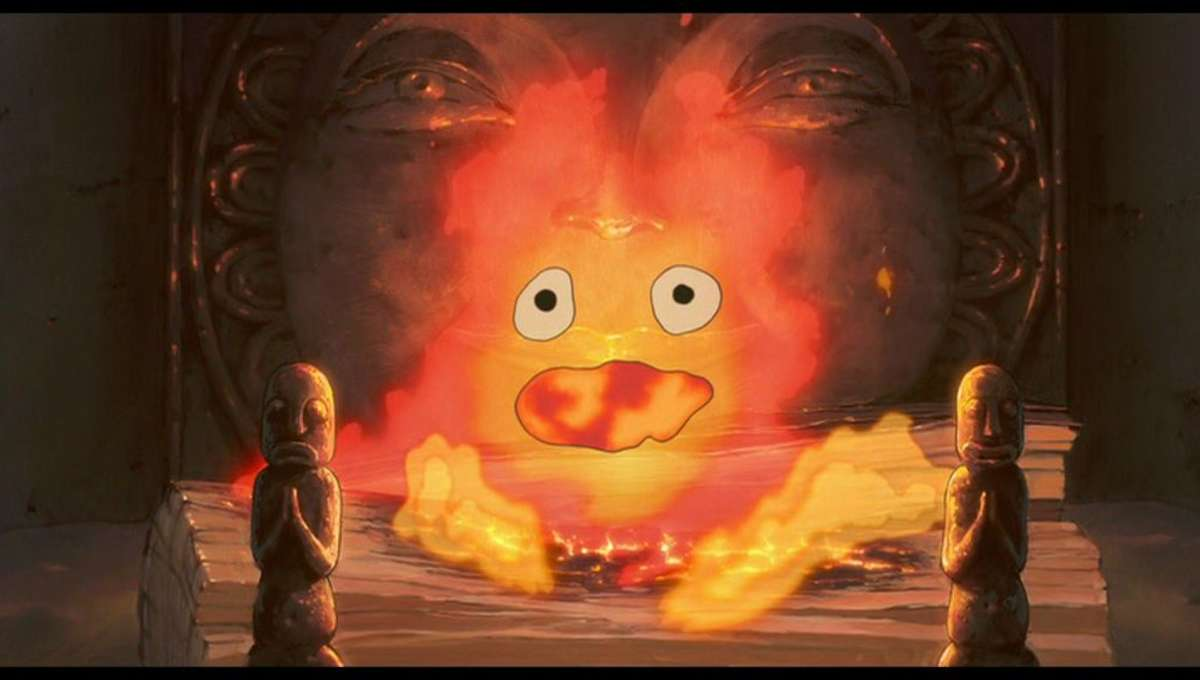 Chosen One of the Day: Calcifer from Howl's Moving Castle