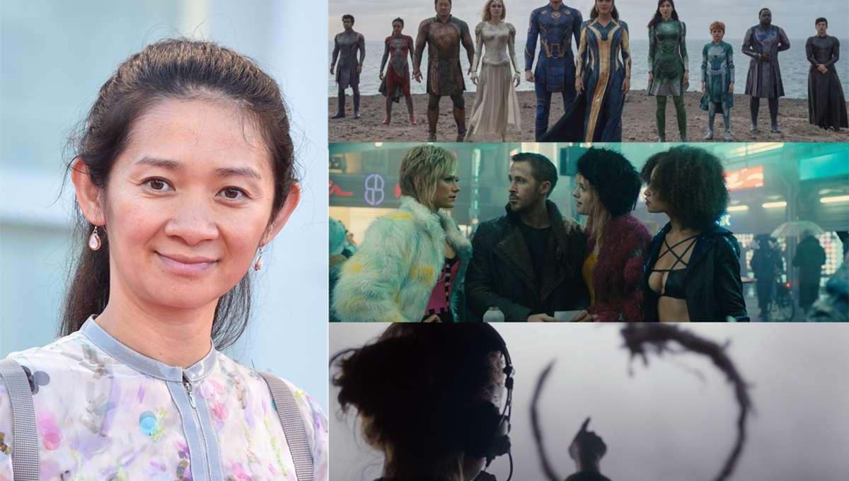Chloe Zhao Eternals Arrival Blade Runner