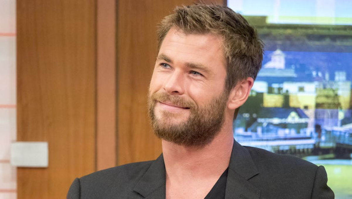 Chris Hemsworth with a beard