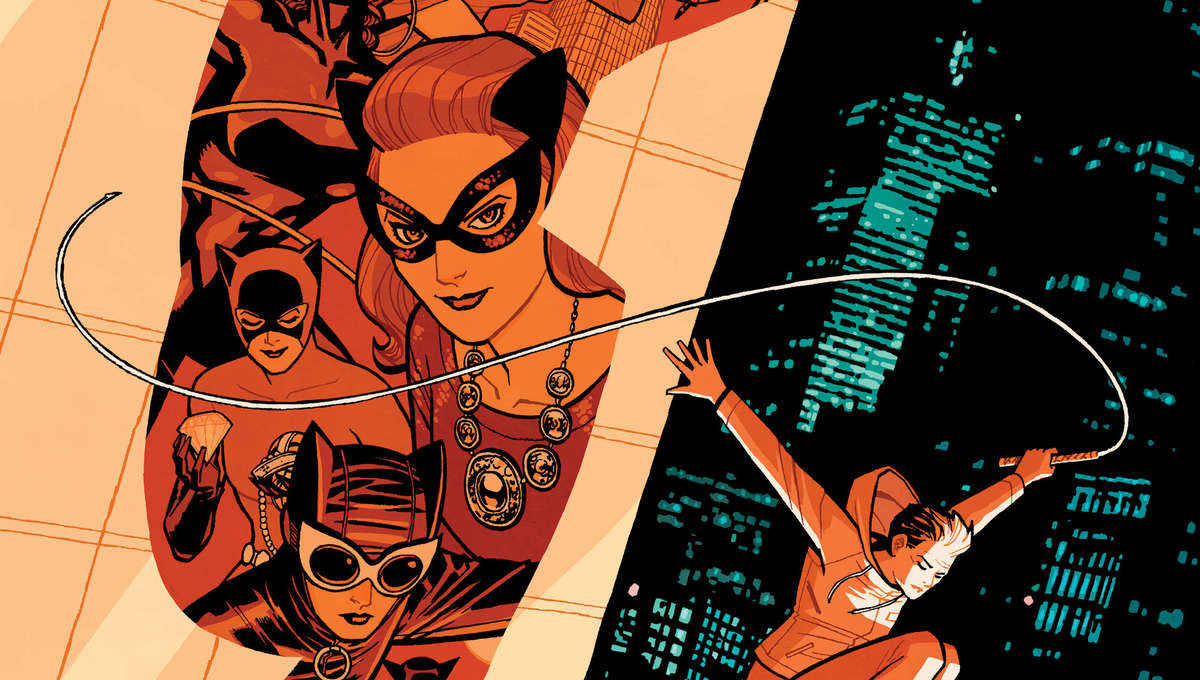 Catwoman Lonely City Cover