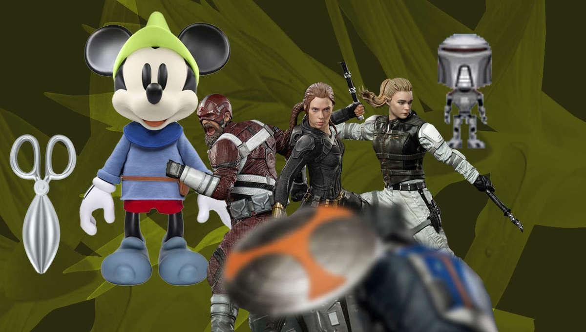Cylon Mickey Black Widow Toy Roundup