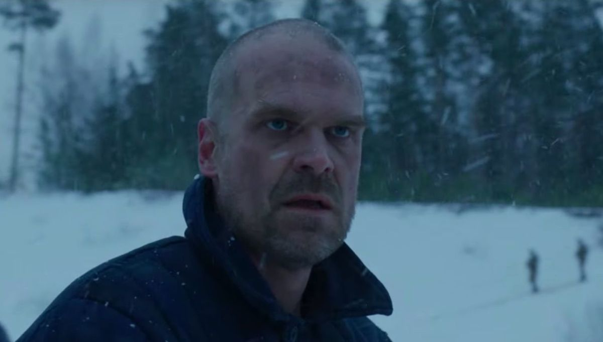 David Harbour Stranger Things 4