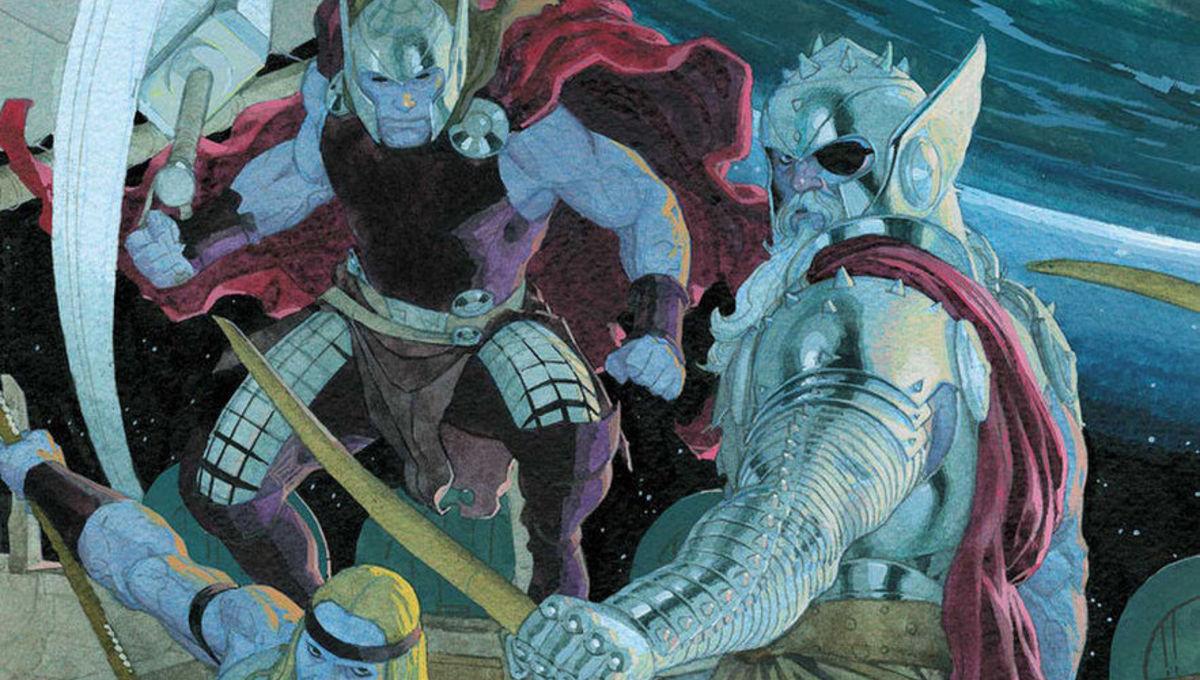 December comics King Thor