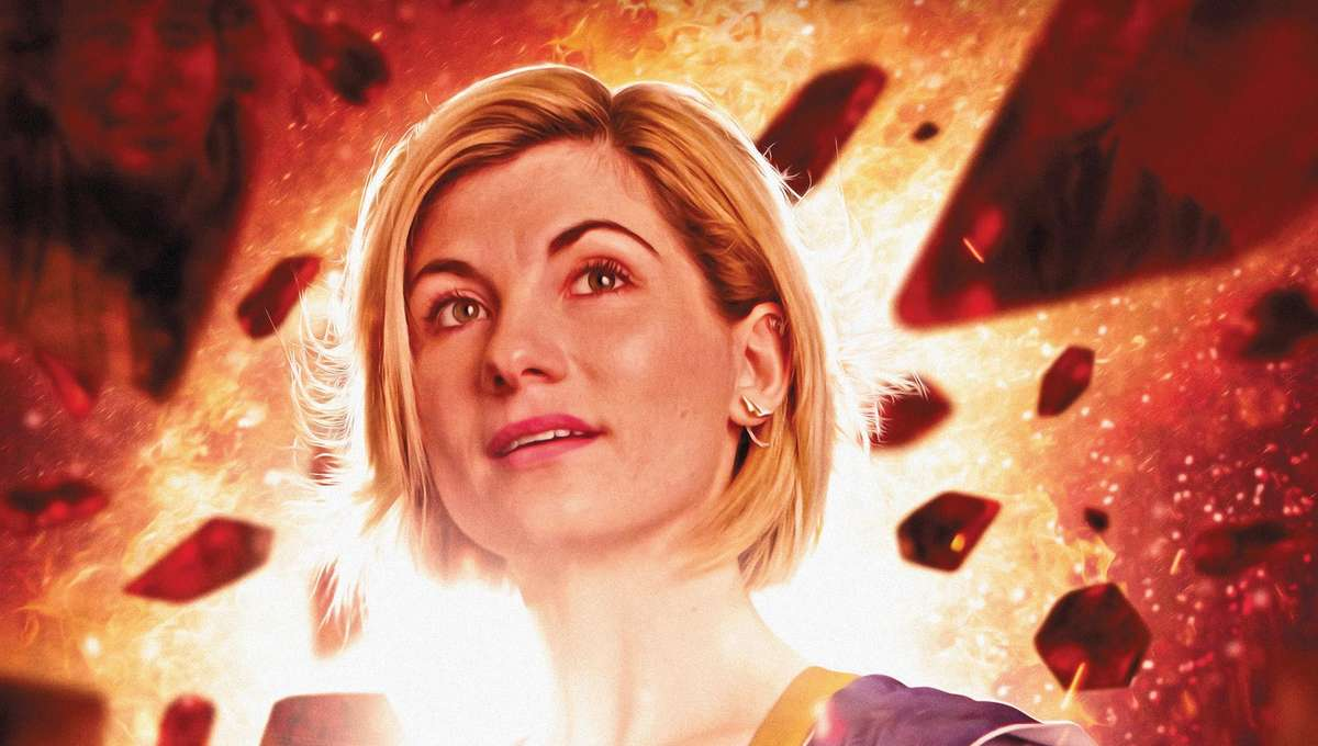 Doctor Who 13th Doctor #0 Cover 2