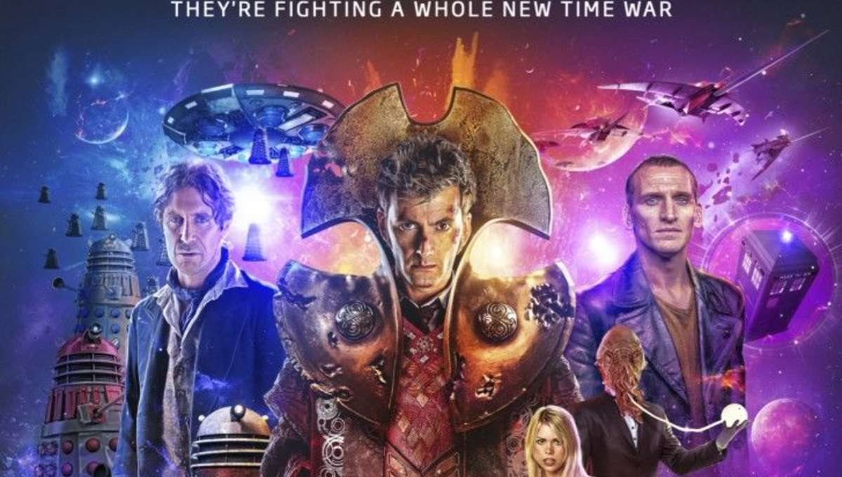 Doctor Who Time Lord Victorious event poster