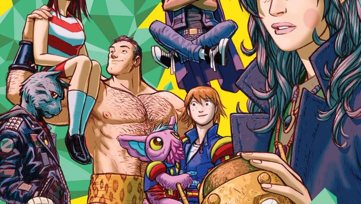 DOOM PATROL weight of the world cover