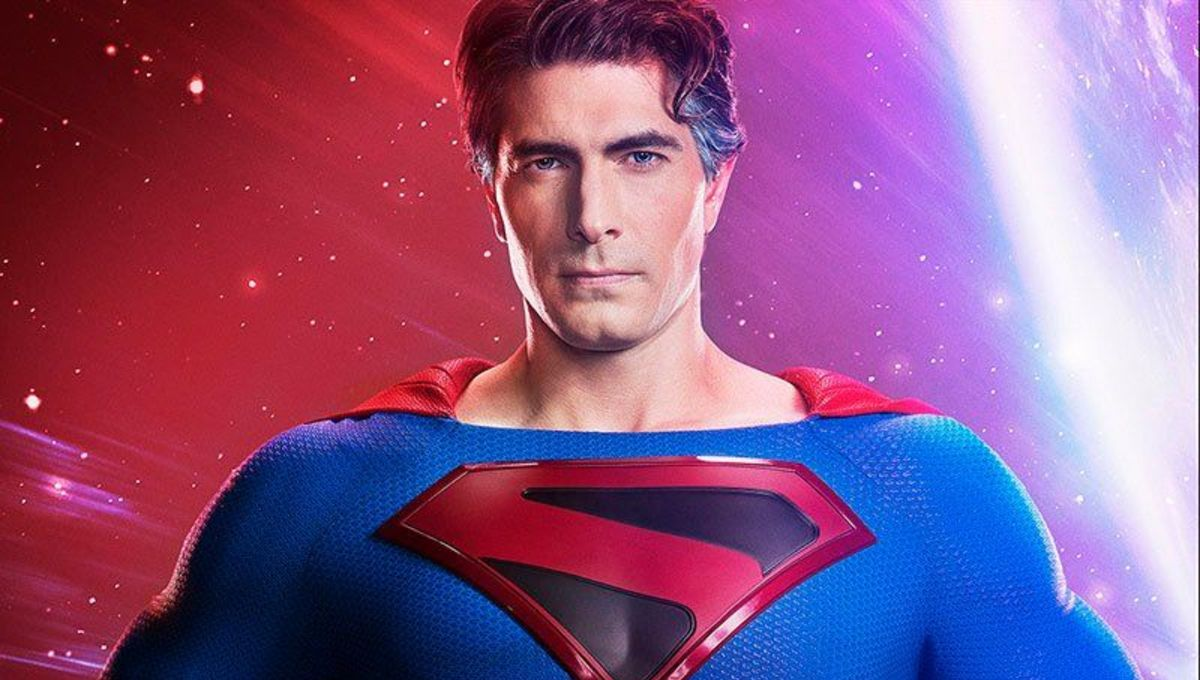 Brandon Routh as Arrowverse Superman