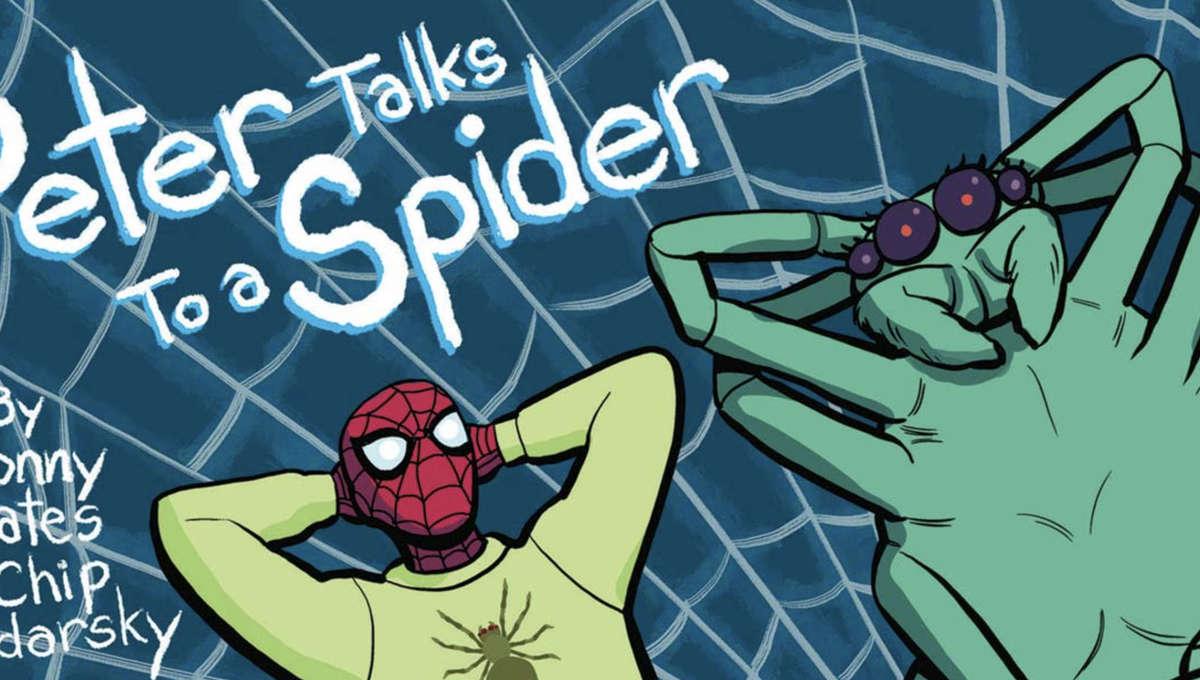 Dr Strange 390 Peter Talks to a Spider 1