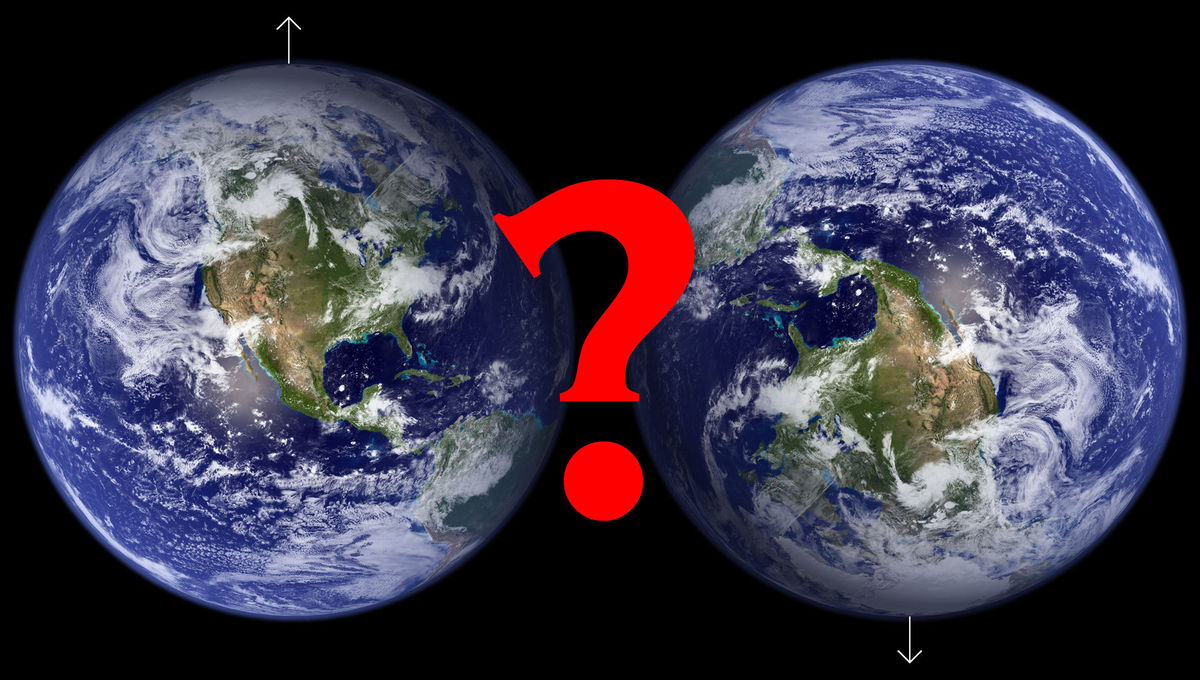Defining which rotation pole is north and which is south on a planet isn't as obvious as you think.