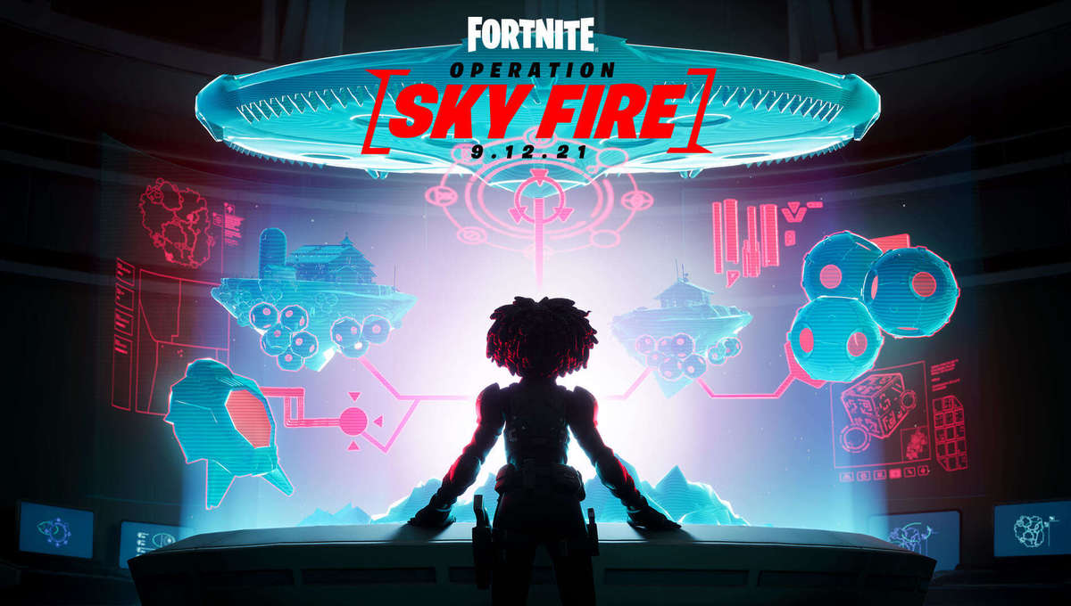 Fortnite OPERATION: SKY FIRE Key Art