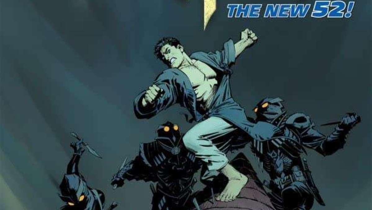 New 52 Batman #8 Cover