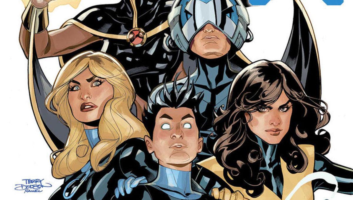 February comics X-Men FF