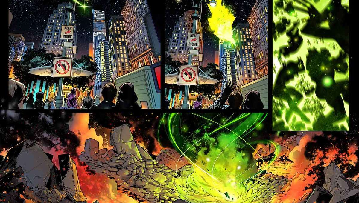 Fantastic Four #25 (Pages by R.B. Silva) b